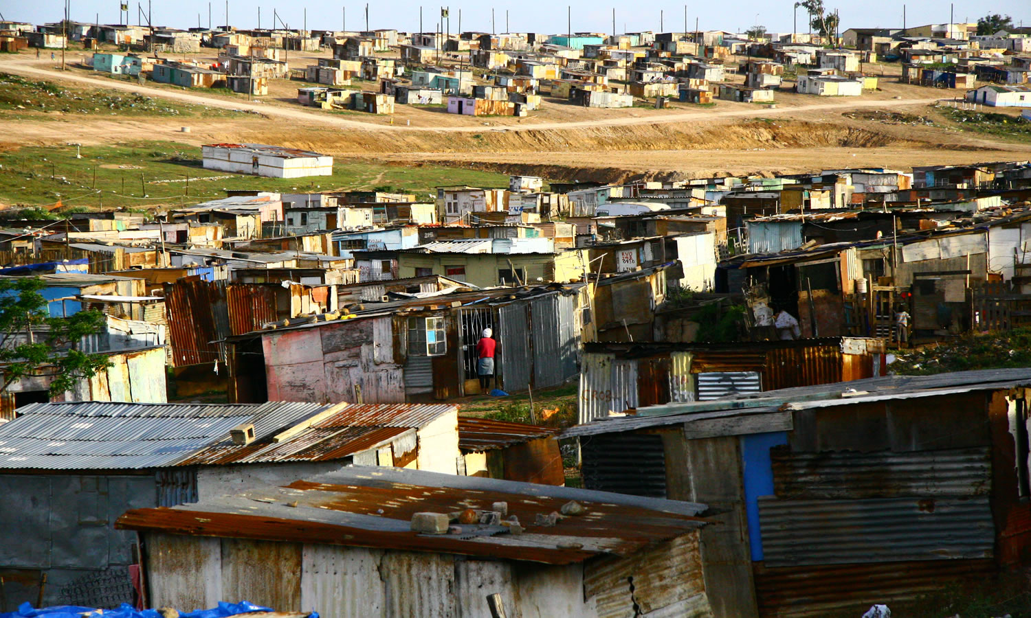 soweto informal settlement slide