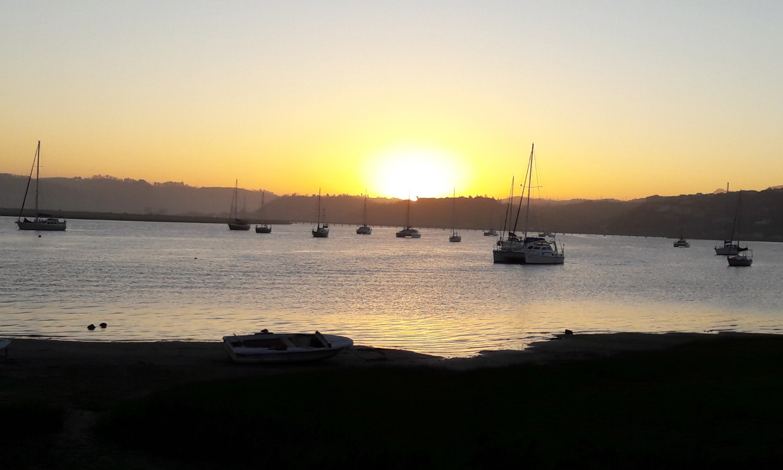 Knysna sunset